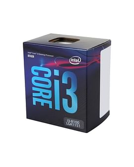 Процессор Intel Процессор BOX Socket-1151 Intel Core i3-8100 4C/4T 3.6GHz 6MB 65W Intel UHD 630