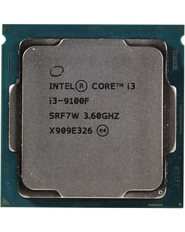 Процессор Intel Процессор BOX Socket-1151 Intel Core i3-9100F 4C/4T 3.6GHz/4.2GHz 6MB 65W (Без видео)