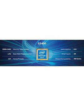Процессор Intel Процессор BOX Socket-1151 Intel Pentium G5400 2C/4T 3.7GHz 4MB 58W Intel UHD 610