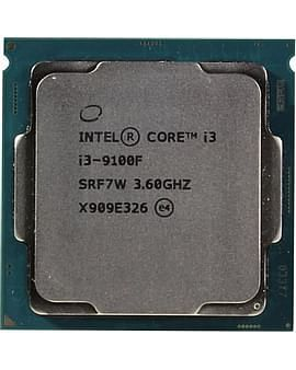 Процессор Intel Процессор Socket-1151 Intel Core i3-9100F 4C/4T 3.6/4.9GHz 6MB 65W (Без ВИДЕО) oem