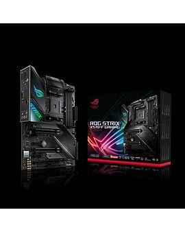 Материнская плата Asus MB ASUS ROG STRIX B450-F GAMING Soc-AM4 (B450) 3xPCI-E HDMI+DP GbLAN SATA RAID ATX 4DDR4 RTL