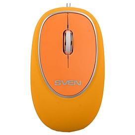 Мышь Sven RX-555 Antistress Silent Orange USB Sven