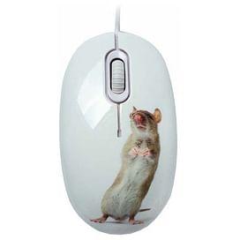 Мышь CBR Capture White USB CBR