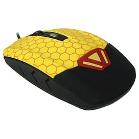 Мышь CBR CM 833 Beeman Black-Yellow USB CBR