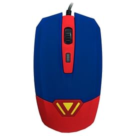 Мышь CBR CM 833 Superman Blue-Red USB CBR