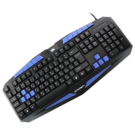Клавиатура Crown CMKY-5006 Black USB Crown