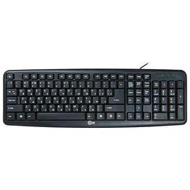 Клавиатура CBR;KB 107 Black USB CBR