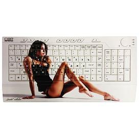 Клавиатура CBR Picture;Keyboard Dream White USB CBR