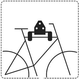 Крепления для велосипедов (хранение и перевозка)