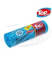 Пакет для мусора MIX 50*60/35л 20шт. (голубой) Качество! Top pack