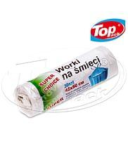 Пакет для мусора LD 45*50/20л 30шт. (белый) Super Choice