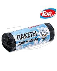 Пакет для мусора LD 120*150/240л 10шт Lux Ромашка(черный) Super Choice