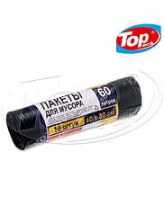 Пакет для мусора LD 60*80/60л 10шт Luxe (черный) Super Choice