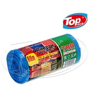 Пакет для мусора HD 60*80/60л 100шт. (черный) ТОП ЭКОНОМ