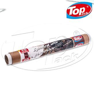 Пергамент 38см/10м (коричн.силикон) Top pack