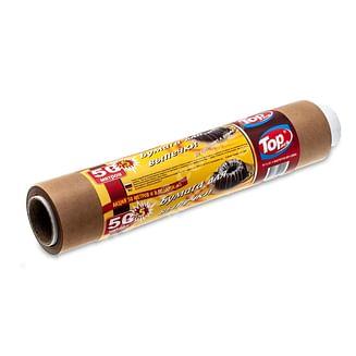Пергамент 38см/50м (коричн.силикон) Top pack