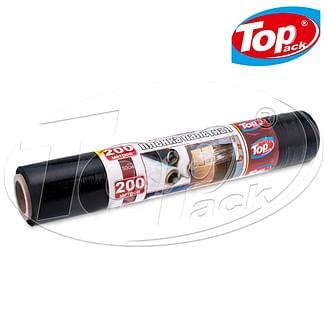 Пленка стрейч палетная 50см/200 23мкм (черная) Top pack
