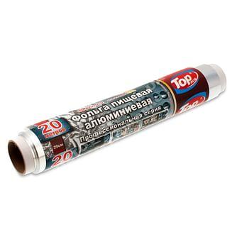 Фольга алюминиевая 29см/20м cуперплотная Top pack Professional