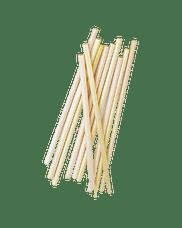 Трубочки/соломинки натуральные 250 шт.