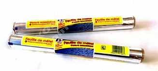 Фольга пищевая алюминиевая для запекания 29см/5м Leader Price