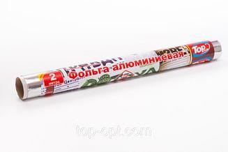 Фольга алюминиевая 44см/3м cуперплотная (30мкм) Top pack Professional