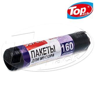 Пакет для мусора LD 90*115/160л 10шт. (черный) Top pack