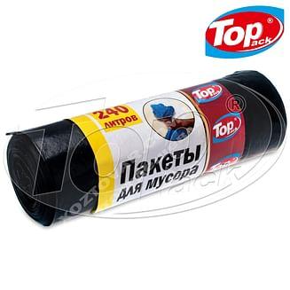 Пакет для мусора LD 120*150/240л 10шт. (черный) Top pack
