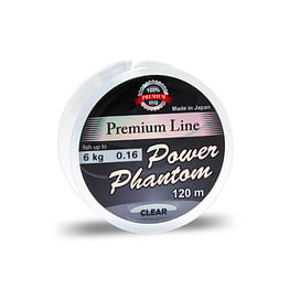 "Леска Power Phantom ""Premium Line""Clear.0.14мм 120м"