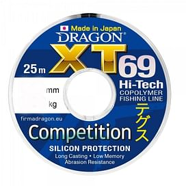 """Леска Dragon """"XT69"""".0.16мм 25м"""