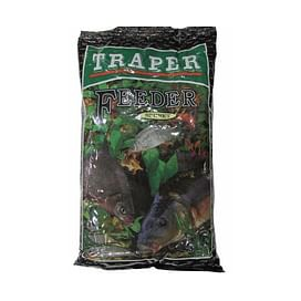 Прикормка Traper Sekret Feeder 1кг (черная)