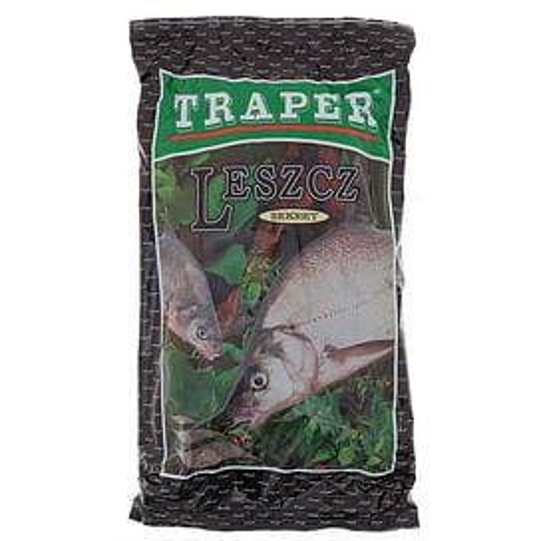 Прикормка Traper Sekret Leszcz 1кг (чёрная)