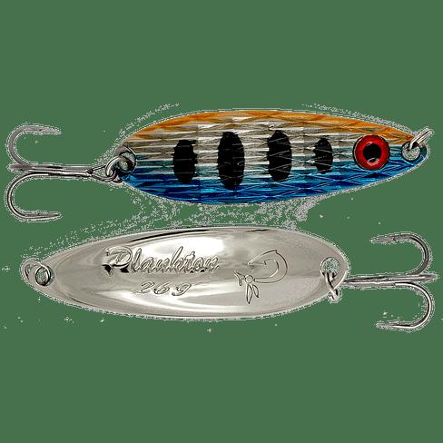 Блесна колеблющаяся LureMax Plankton 64мм., 18 г., 42, Red eye