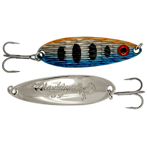Блесна колеблющаяся LureMax Plankton 28мм., 3 г., 42, Red eye