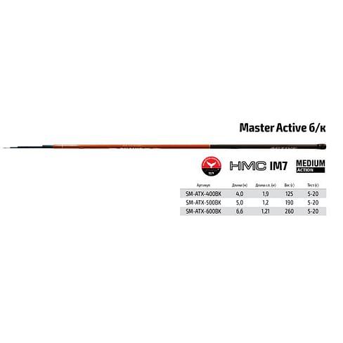 Маховое удилище Surf Master Active 6м