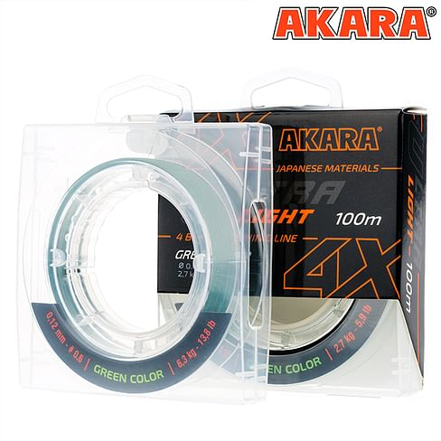 Плетёный шнур Akara Ultra Light 0,08 мм