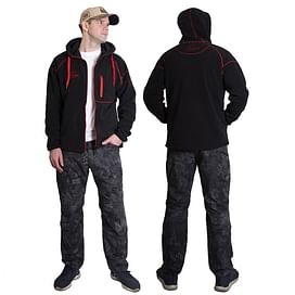 Куртка флисовая Alaskan Black Water XL с капюшоном