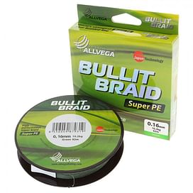 Шнур Allvega Bullit Braid Dark Green 135м
