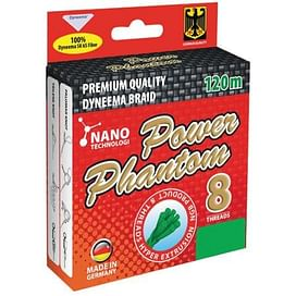 Шнур Power Phantom 8x, 120m (Green)