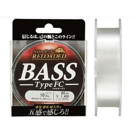 Леска Gosen Fluorocarbon Reloaded Bass FC 80м.