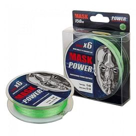 Шнур Akkoi Mask Power X6 150,зеленый,0.18мм,7.71кг