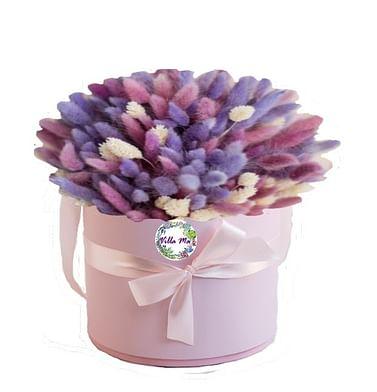 Букет в коробке /сухоцветы/