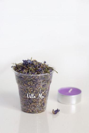 Пищевая лаванда / Цветки сушеной лаванды россыпь