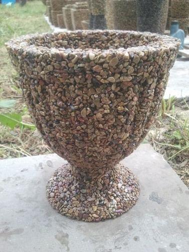 Вазоны из натурального камня