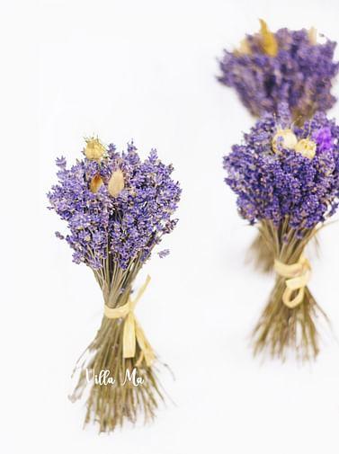 Букет 1СЕНТЯБРЯ /лаванда/ сухоцветы