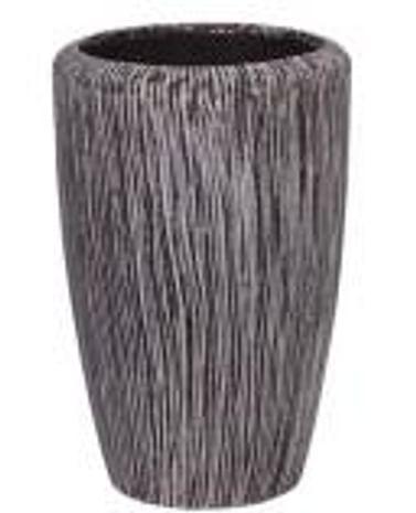 Кашпо Твист уличное высокое из фиброцемента