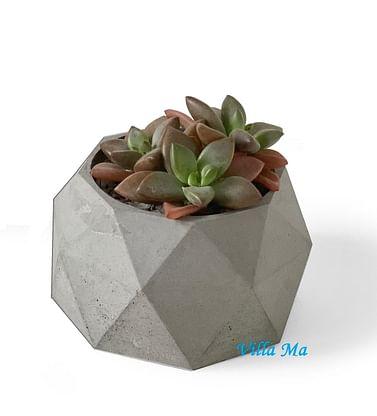 Кашпо Алмаз бетон