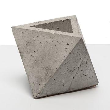 Кашпо Октаэдр бетон