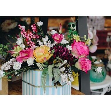 Цветы и композиции из искусств. растений