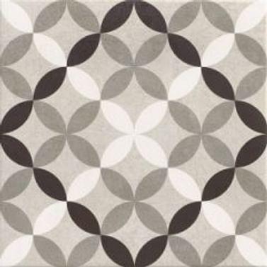 Керамогранит HANOI CIRCLE GREY 33,3*33,3