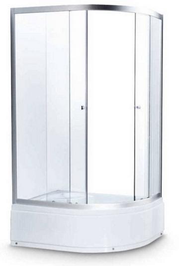 Душевая кабина 122/2 Avanta 120*80 рифлёное стекло (правая/левая)